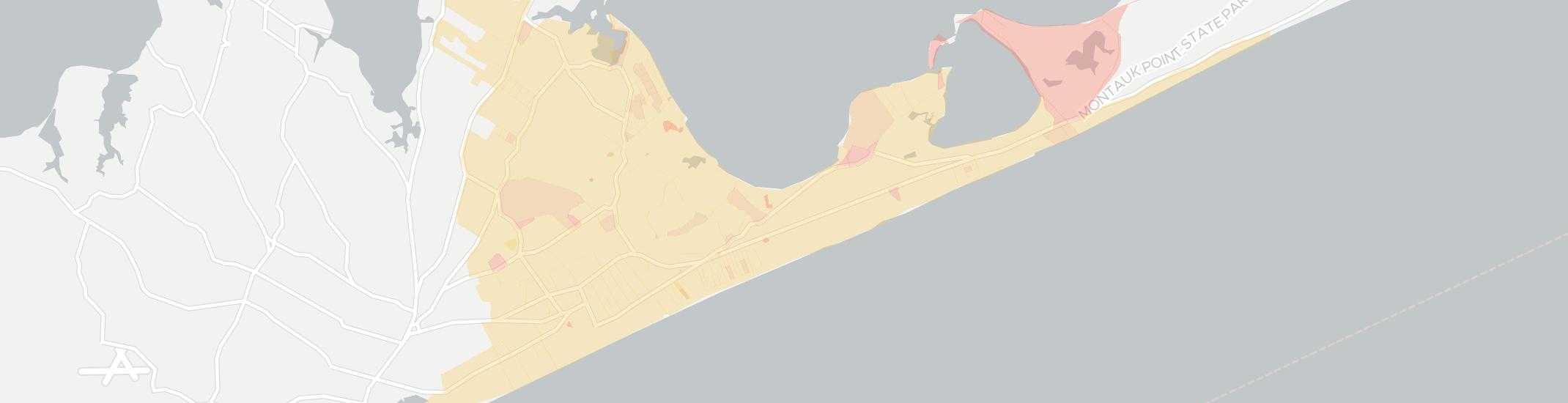 Amagansett Internet Competition Map. Click for interactive map.