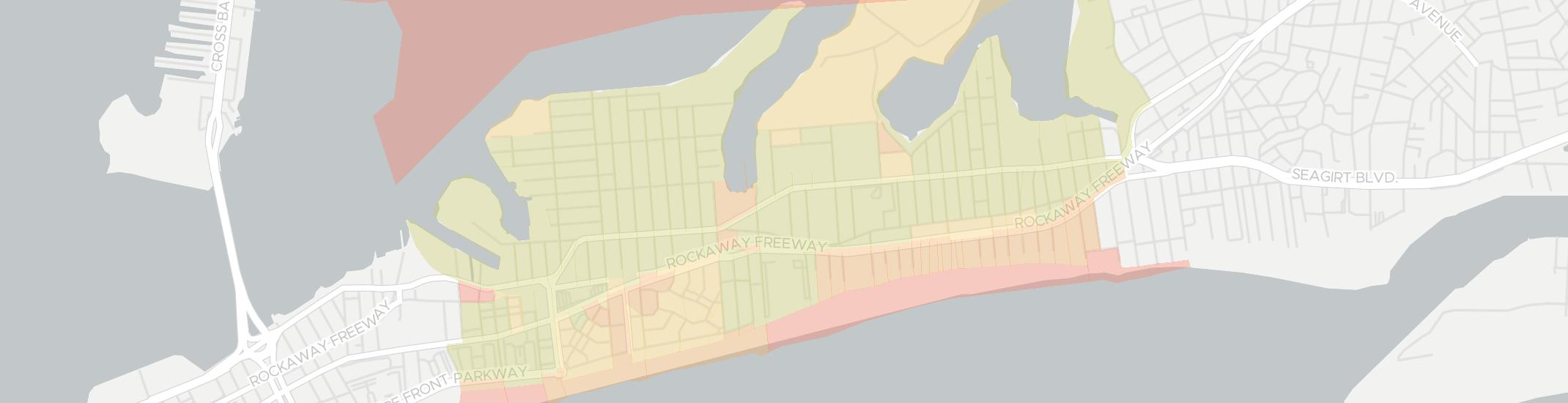 Arverne Internet Competition Map. Click for interactive map.