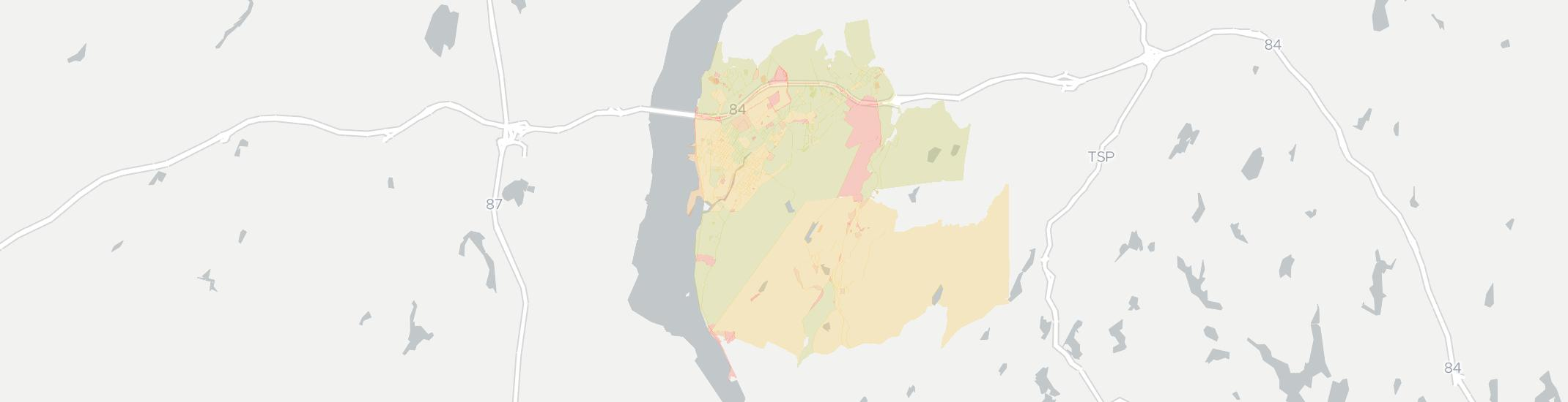 Beacon Internet Competition Map. Click for interactive map.