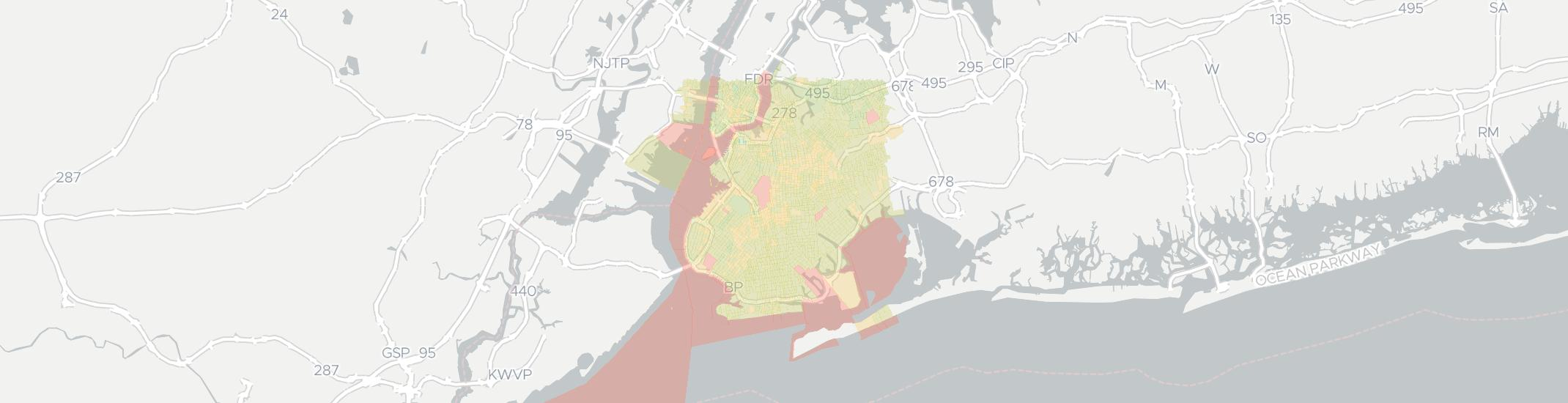 Brooklyn Zip Code Map 2017.Internet Providers In Brooklyn Compare 36 Internet Providers