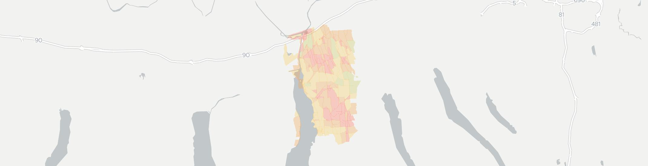 Cayuga Internet Competition Map. Click for interactive map.
