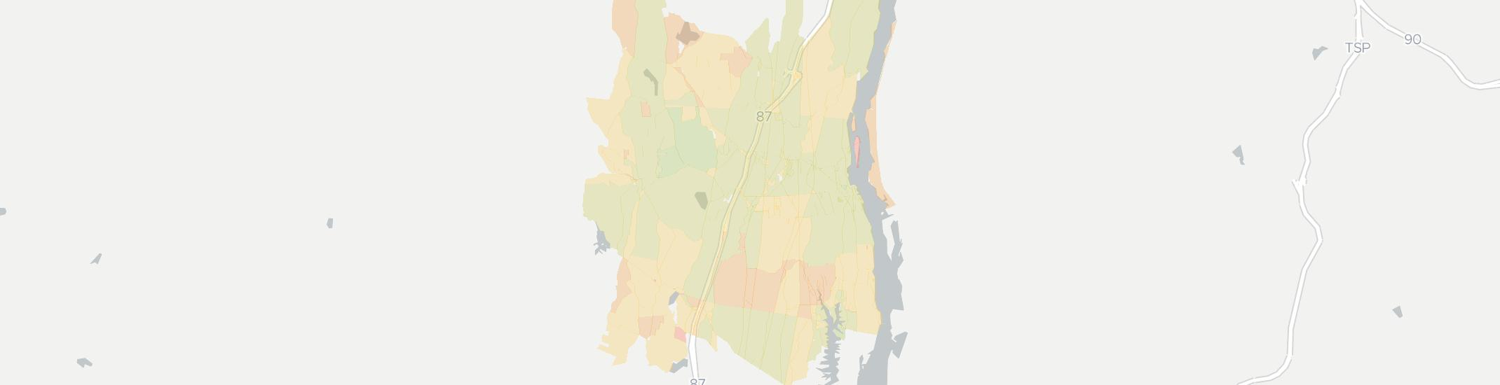 Coxsackie Internet Competition Map. Click for interactive map.