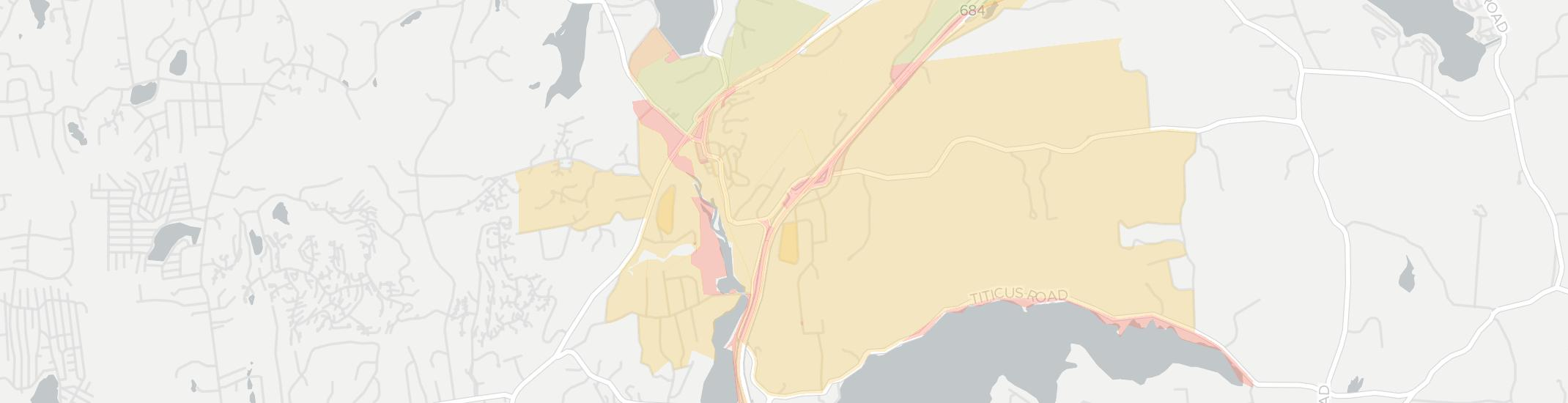 Croton Falls Internet Competition Map. Click for interactive map.