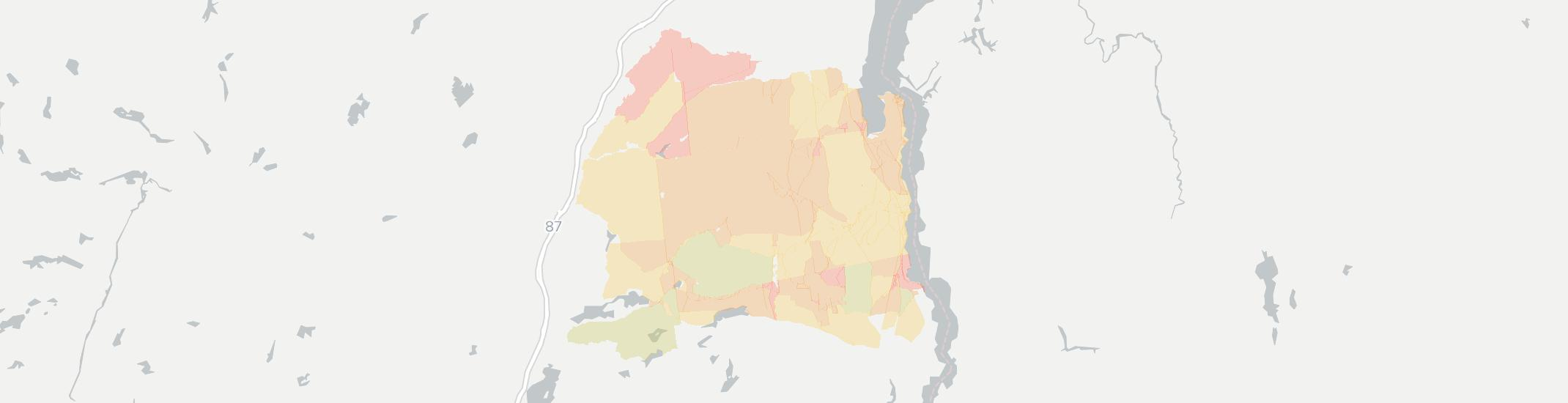 Crown Point Internet Competition Map. Click for interactive map.