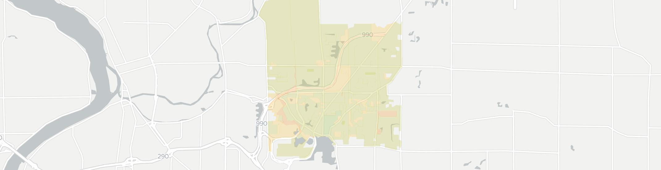 Getzville Internet Competition Map. Click for interactive map.
