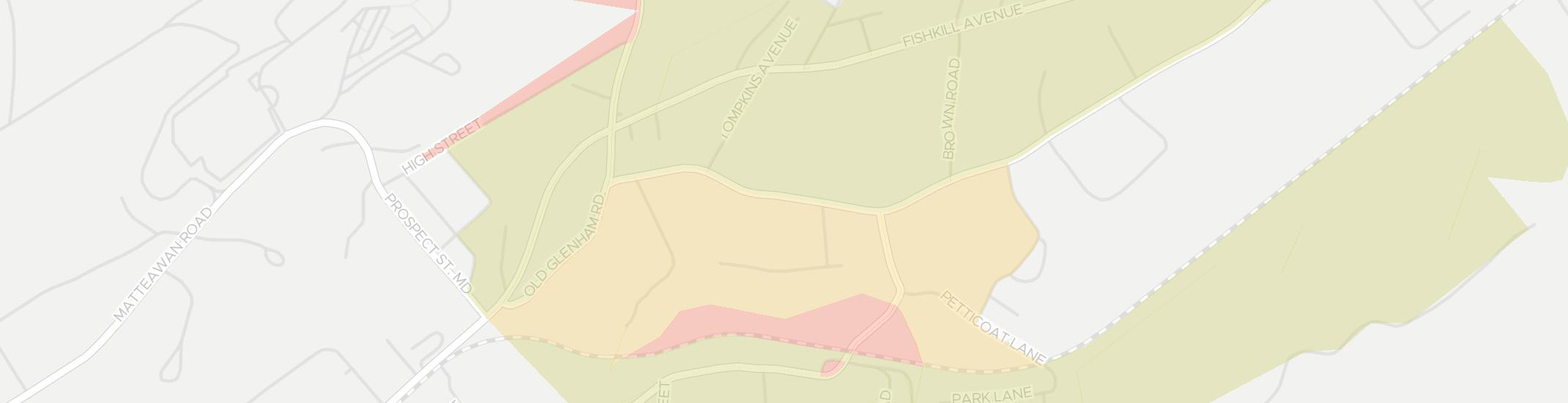 Glenham Internet Competition Map. Click for interactive map.