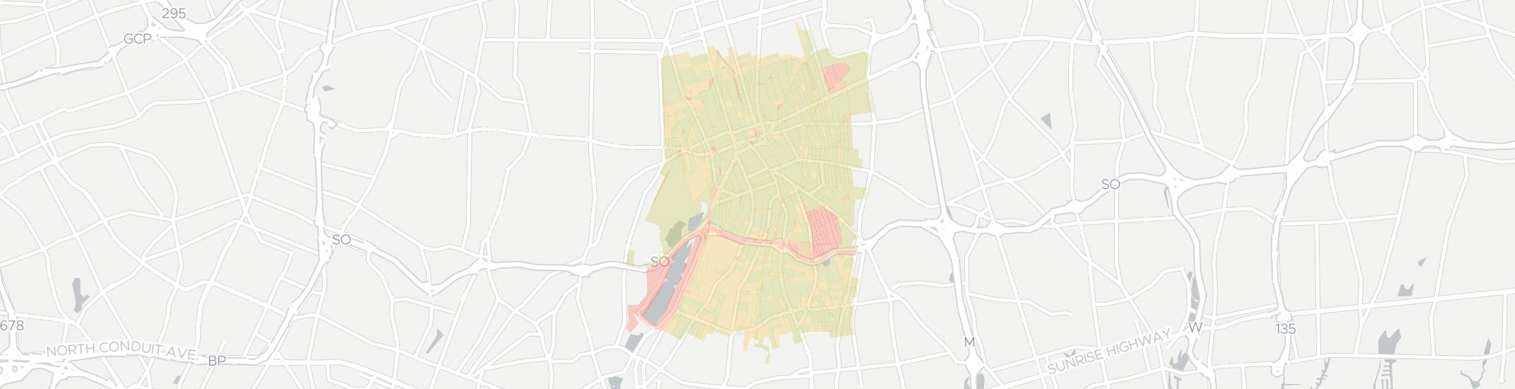 Hempstead Internet Competition Map. Click for interactive map.