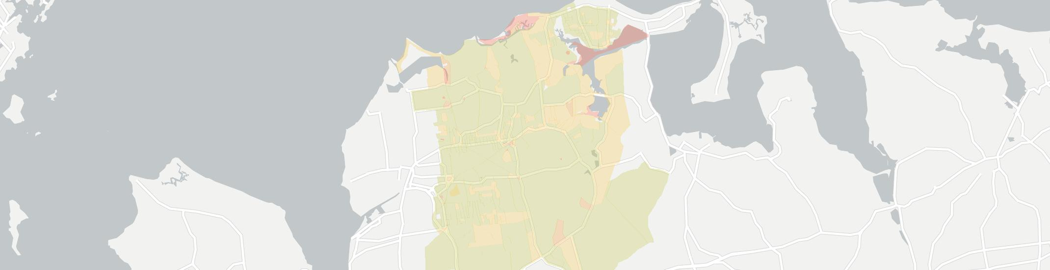 Locust Valley Internet Competition Map. Click for interactive map.