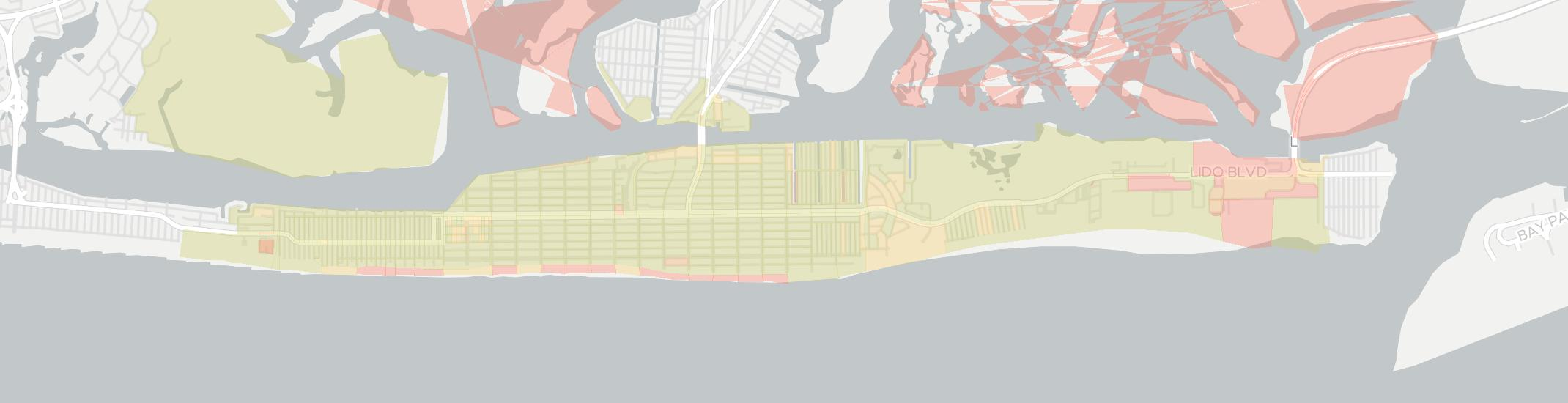 Long Beach Internet Competition Map. Click for interactive map.