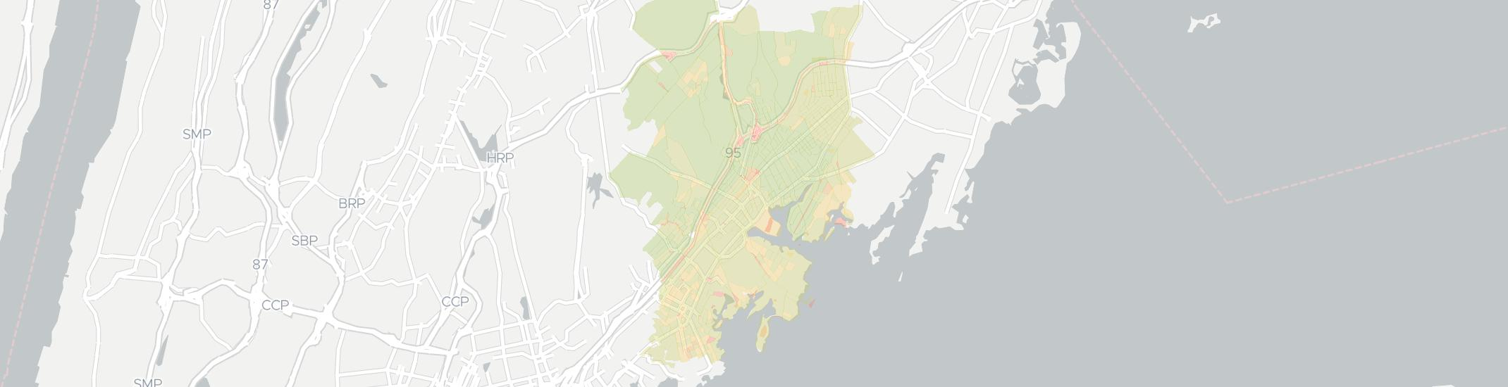 Mamaroneck Internet Competition Map. Click for interactive map.
