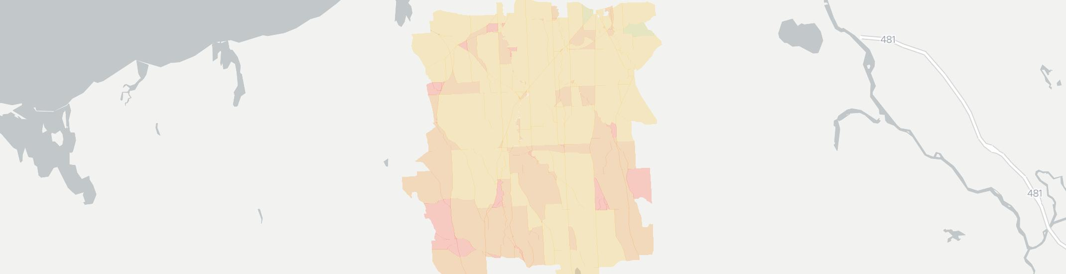 Martville Internet Competition Map. Click for interactive map.