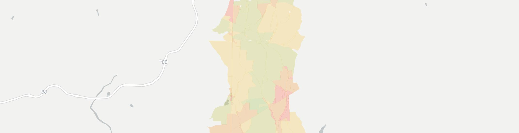 Masonville Internet Competition Map. Click for interactive map.