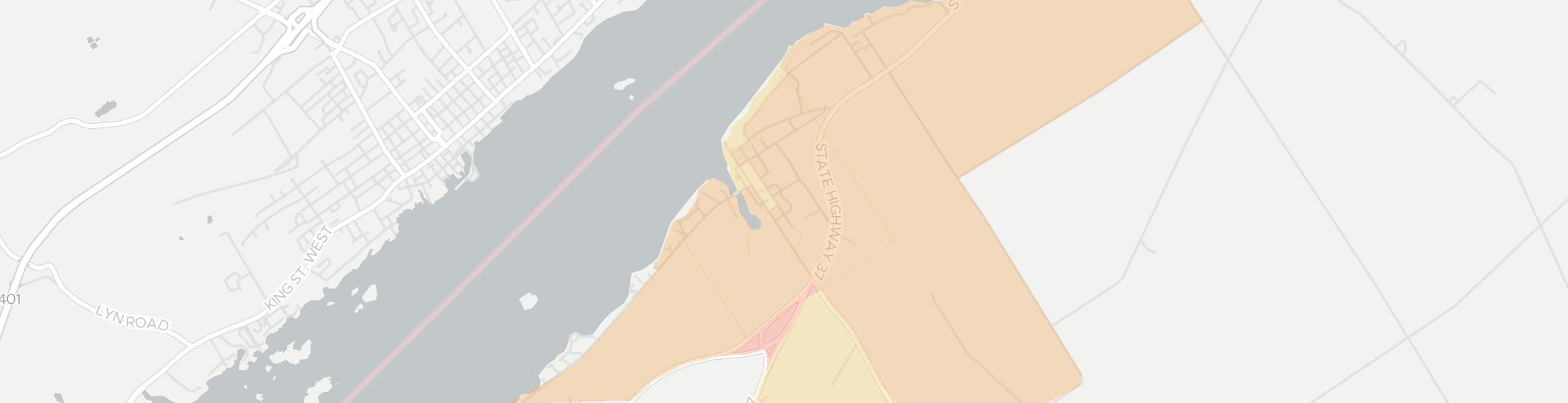 Morristown Internet Competition Map. Click for interactive map.
