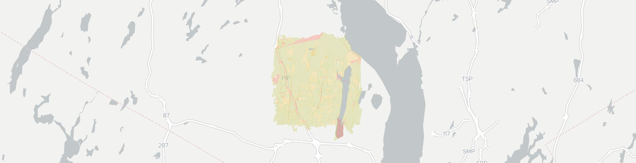 New City Internet Competition Map. Click for interactive map.