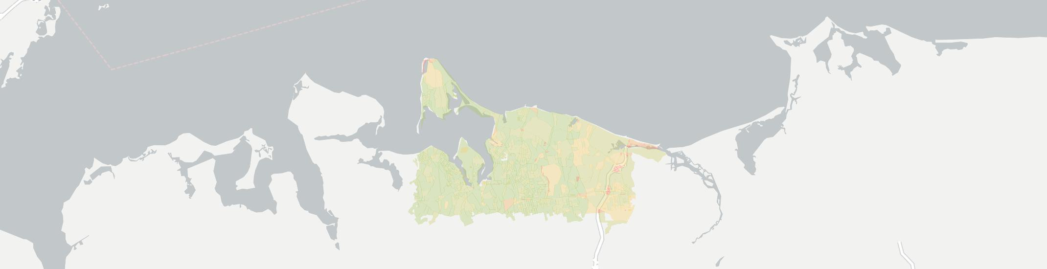 Northport Internet Competition Map. Click for interactive map.