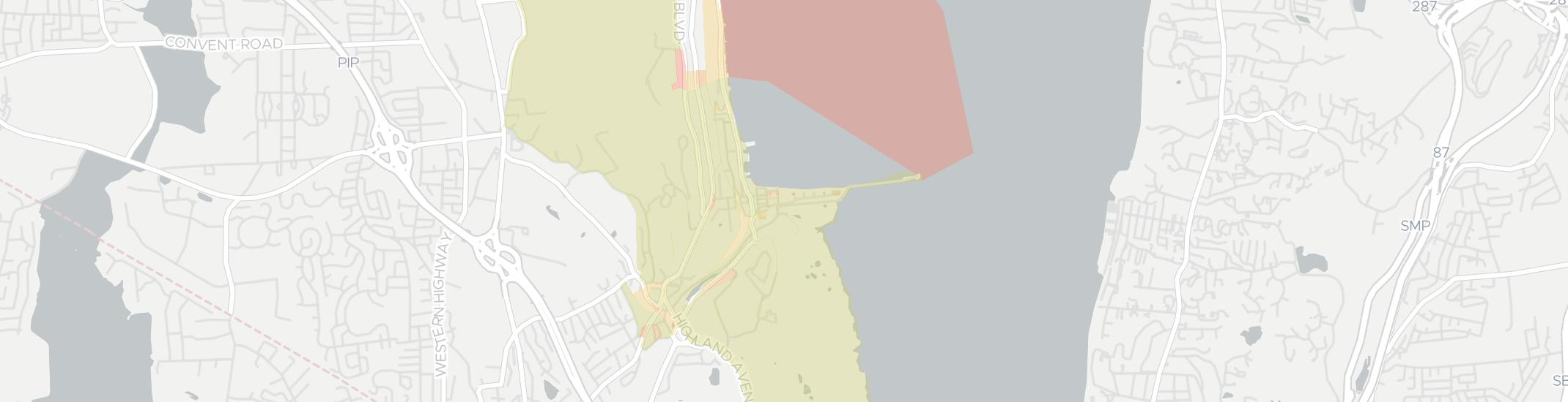Piermont Internet Competition Map. Click for interactive map.
