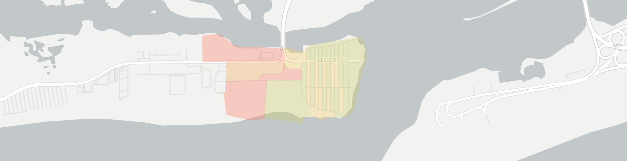 Point Lookout Internet Competition Map. Click for interactive map.