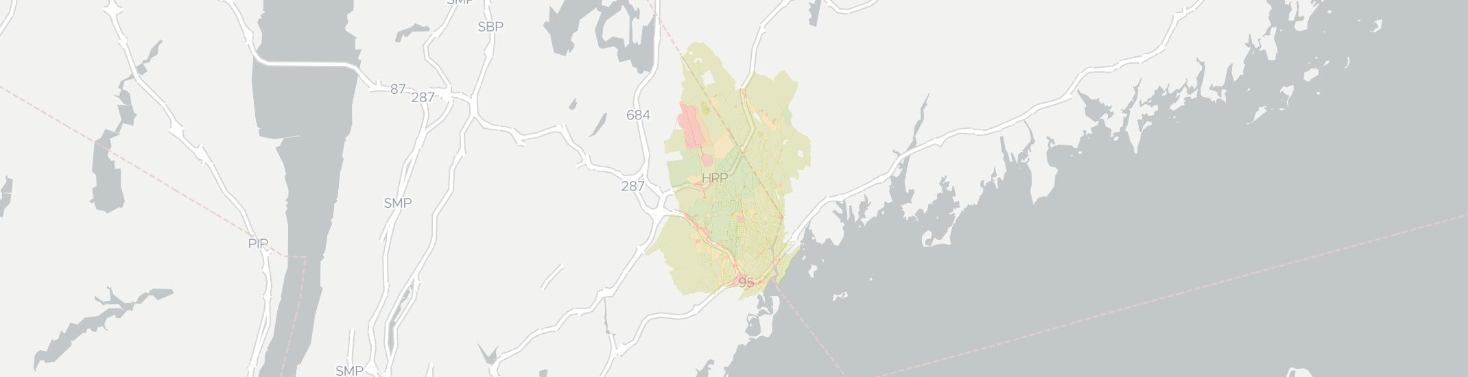 Port Chester Internet Competition Map. Click for interactive map.
