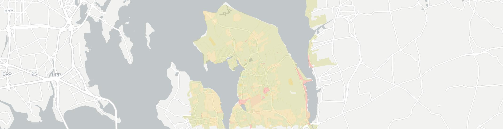 Port Washington Internet Competition Map. Click for interactive map.