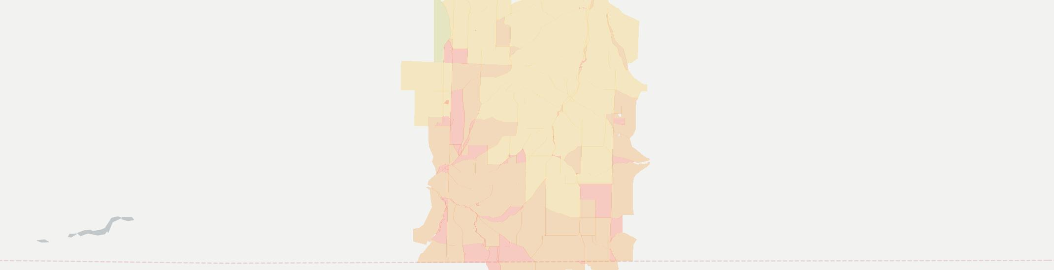 Rexville Internet Competition Map. Click for interactive map.