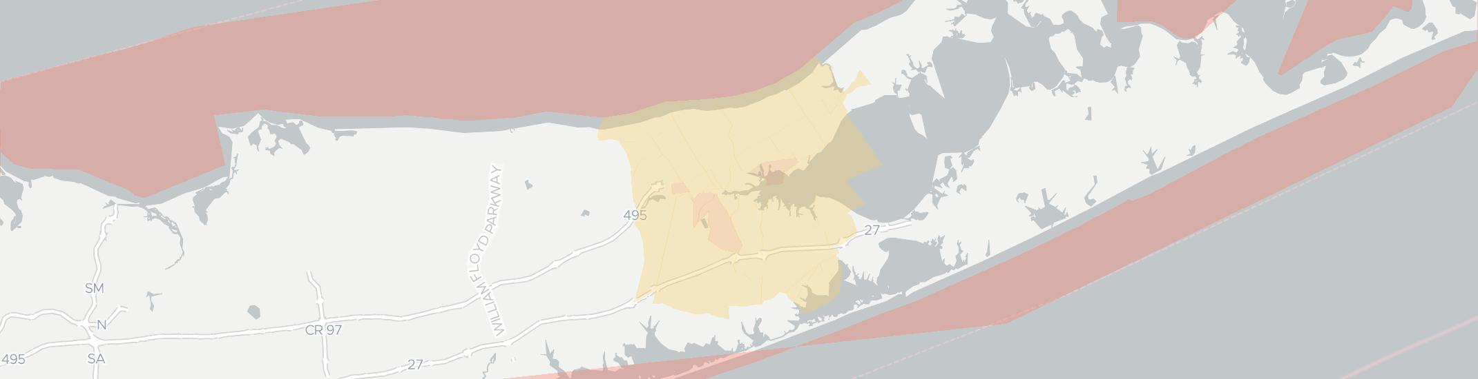 Riverhead Internet Competition Map. Click for interactive map.