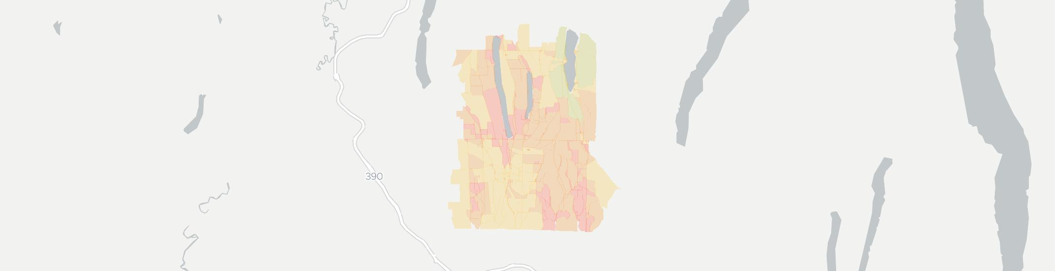 Springwater Internet Competition Map. Click for interactive map.