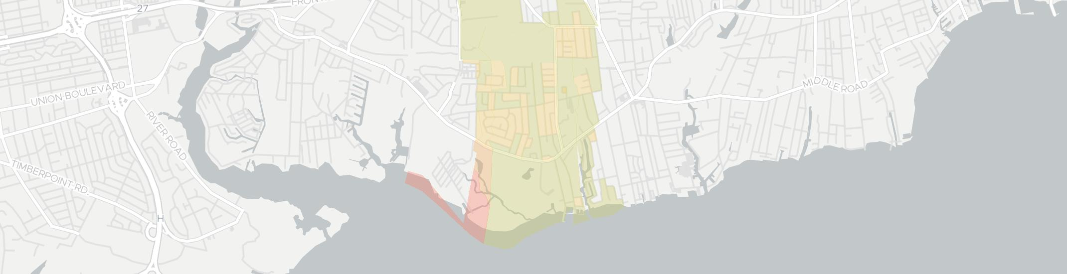 West Sayville Internet Competition Map. Click for interactive map.