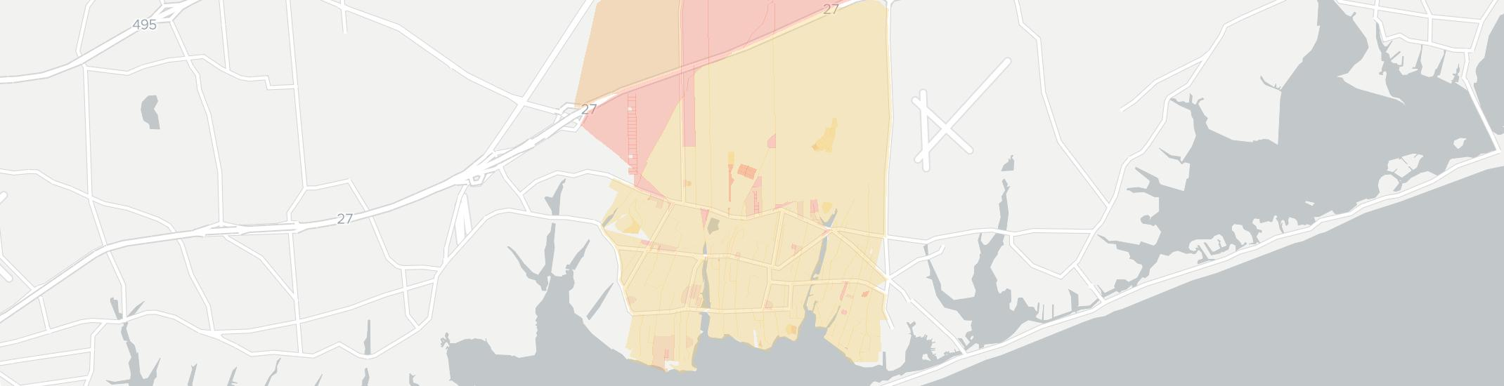 Westhampton Internet Competition Map. Click for interactive map.