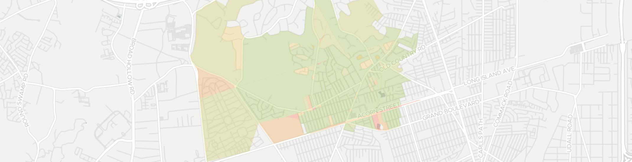 Wheatley Heights Internet Competition Map. Click for interactive map.