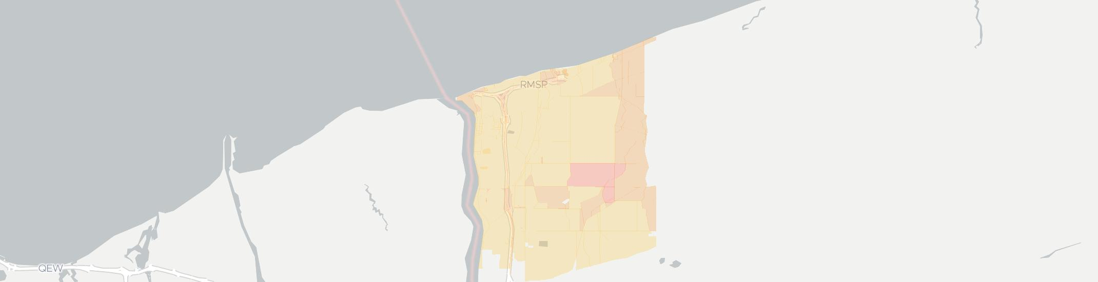 Youngstown Internet Competition Map. Click for interactive map.