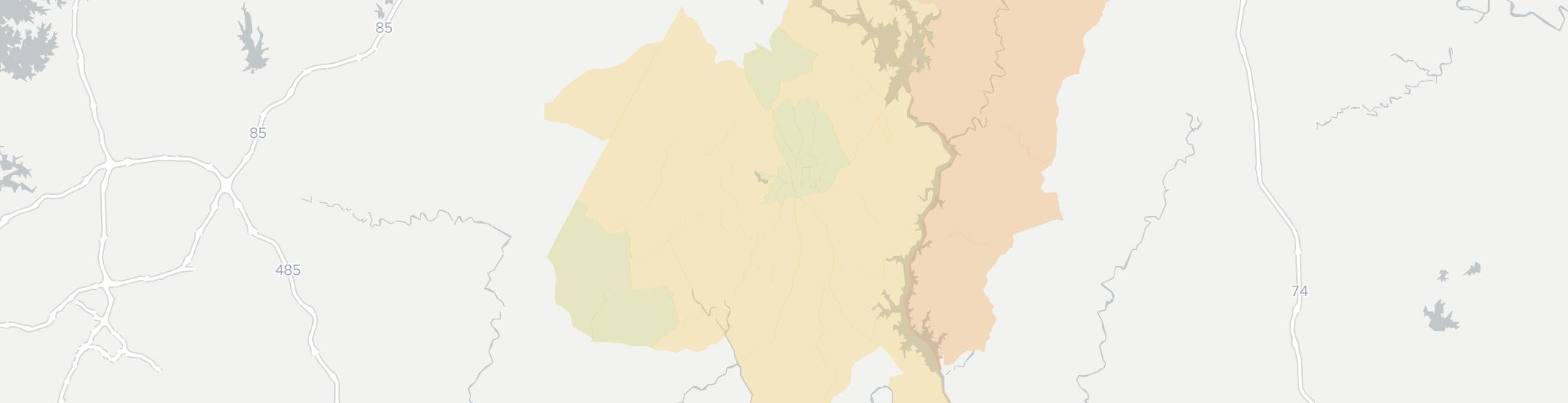 Albemarle Internet Competition Map. Click for interactive map.