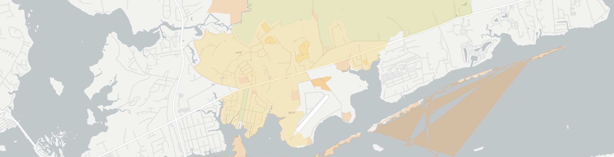 Bogue Internet Competition Map. Click for interactive map.