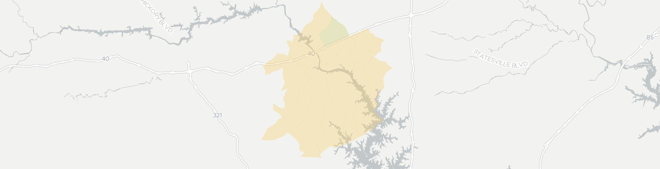 Catawba Internet Competition Map. Click for interactive map.