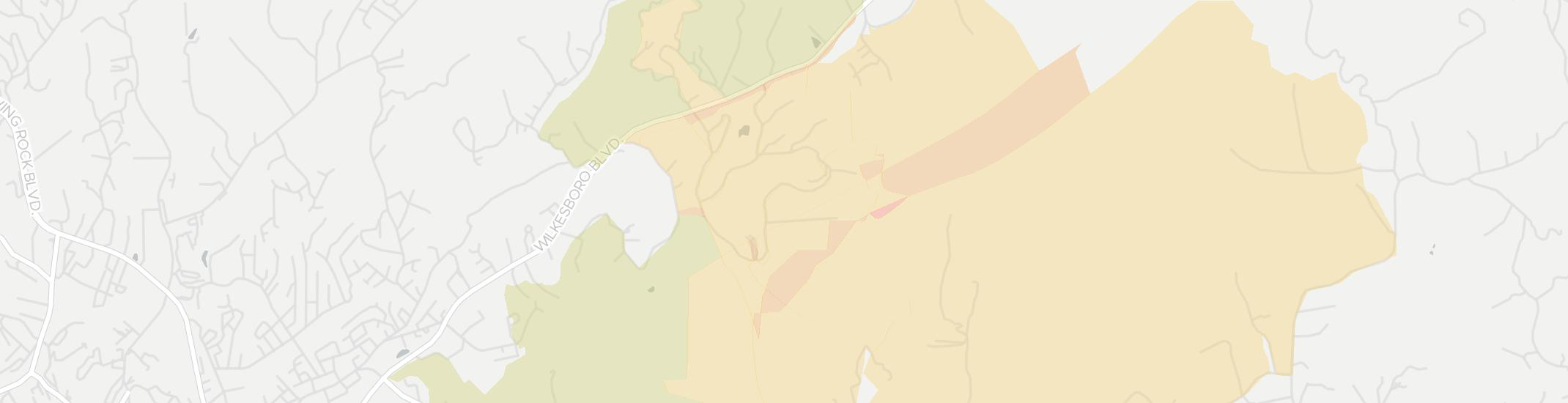 Cedar Rock Internet Competition Map. Click for interactive map.