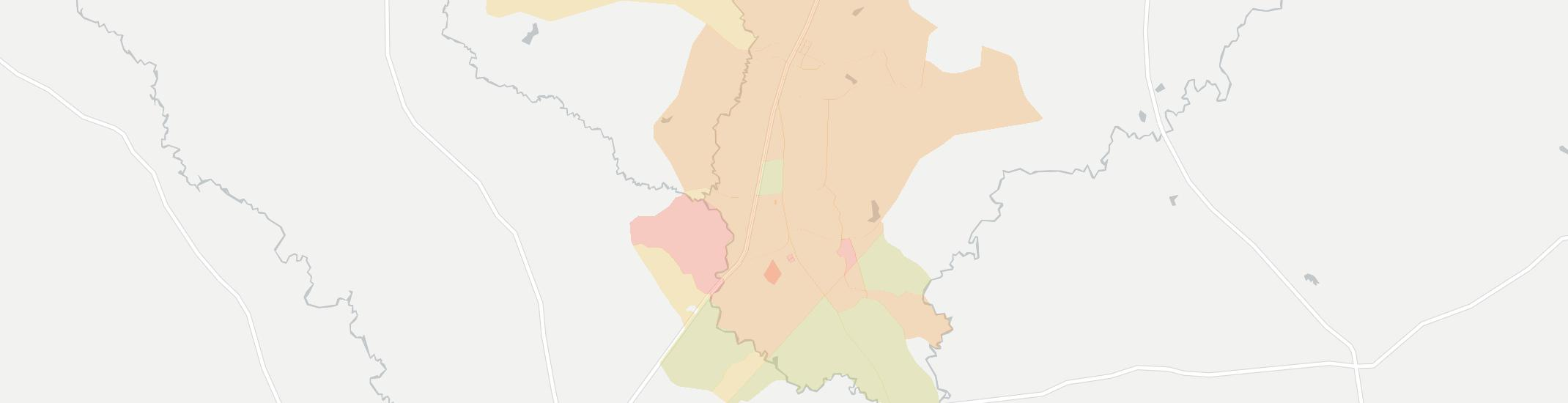 Ingold Internet Competition Map. Click for interactive map.