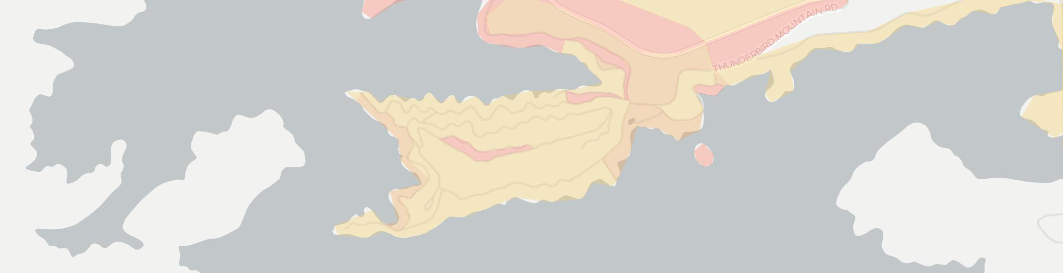 Lake Santeetlah Internet Competition Map. Click for interactive map.