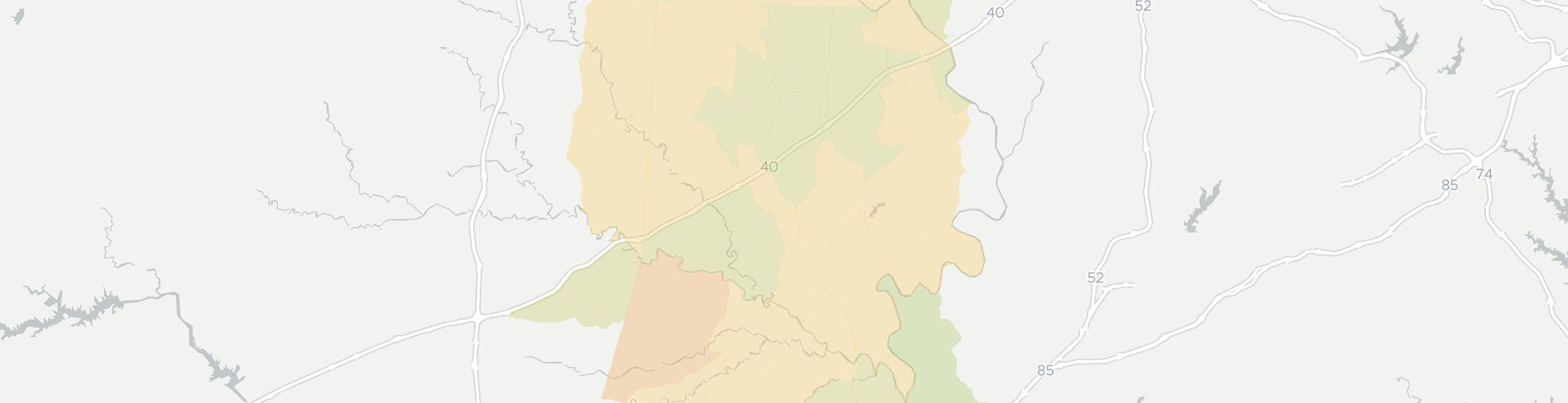 Mocksville Internet Competition Map. Click for interactive map.