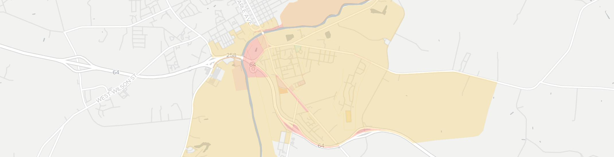Princeville Internet Competition Map. Click for interactive map.