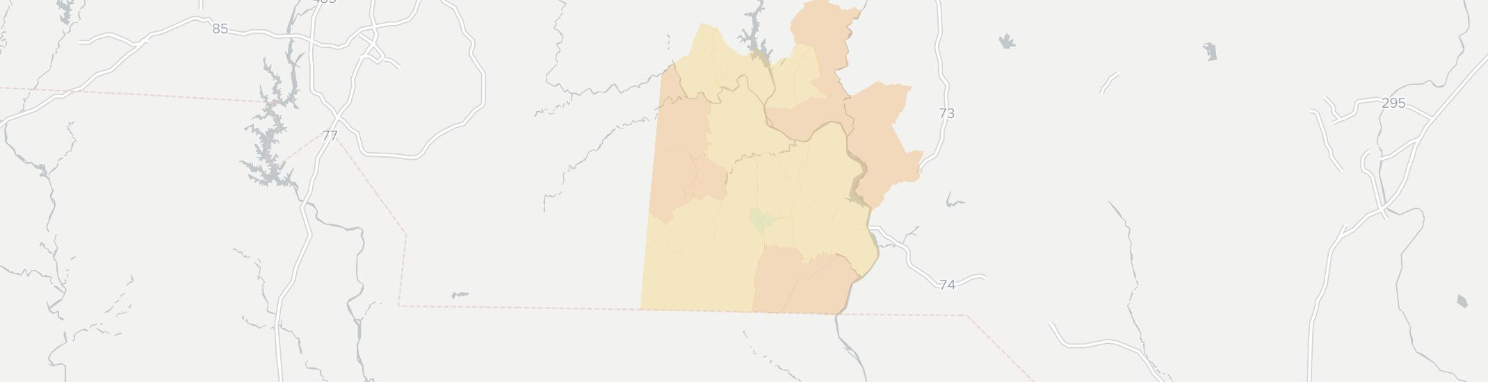 Wadesboro Internet Competition Map. Click for interactive map.