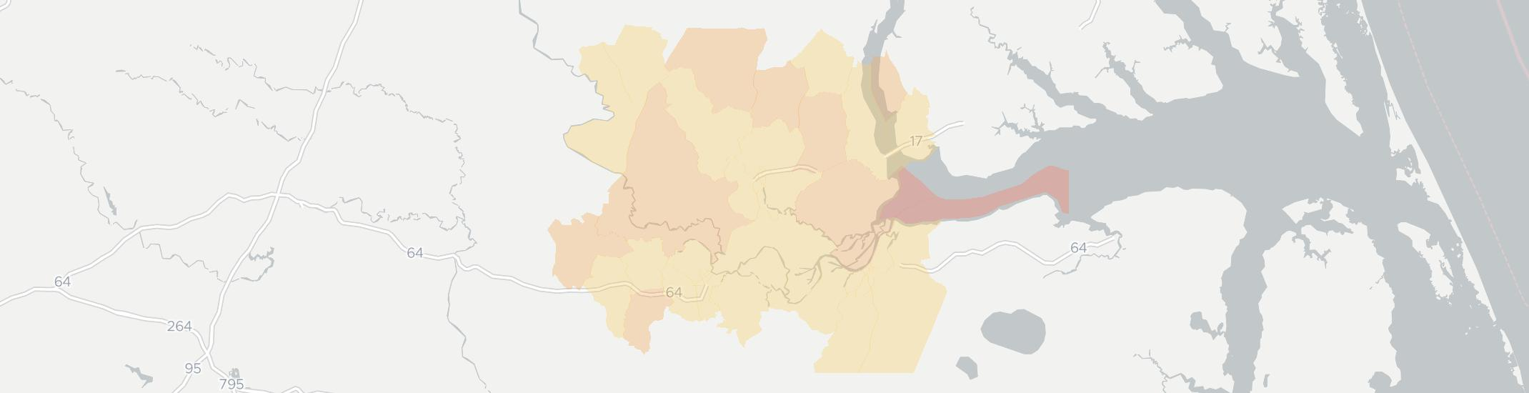 Windsor Internet Competition Map. Click for interactive map.