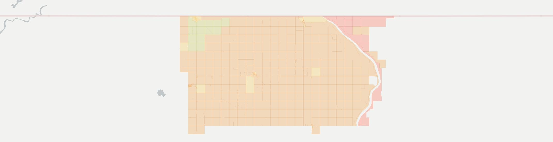 Flaxton Internet Competition Map. Click for interactive map.