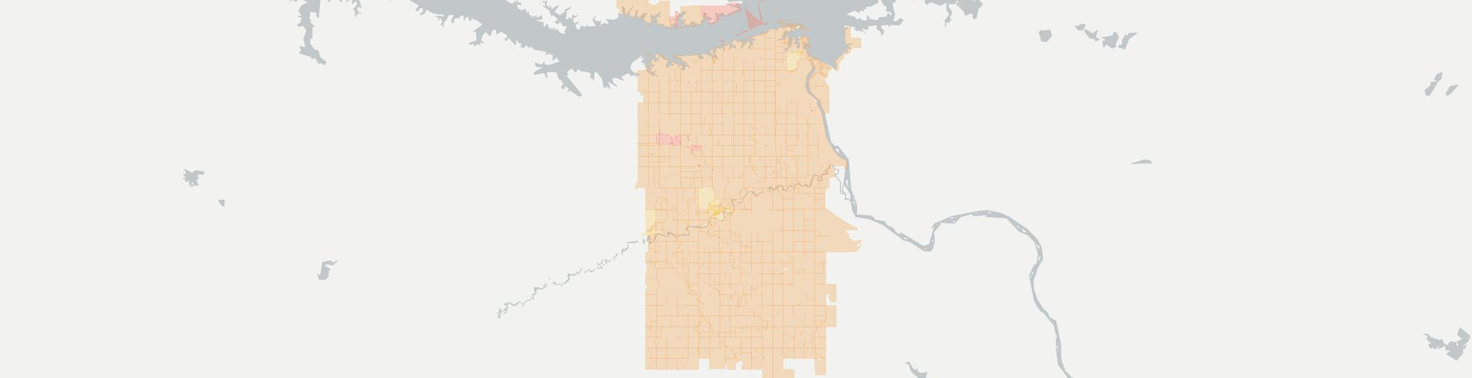 Hazen Internet Competition Map. Click for interactive map.