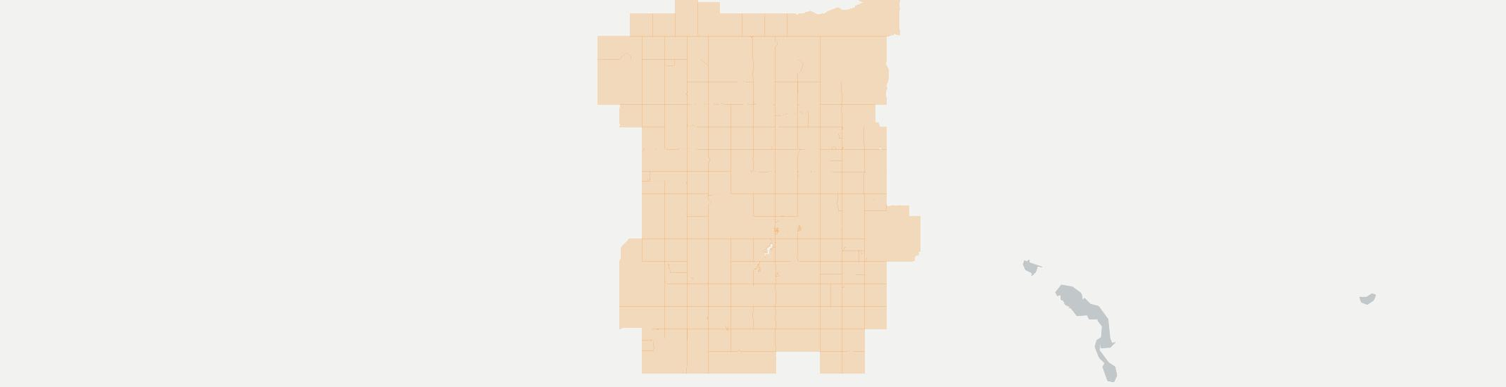 Mcgregor Internet Competition Map. Click for interactive map.