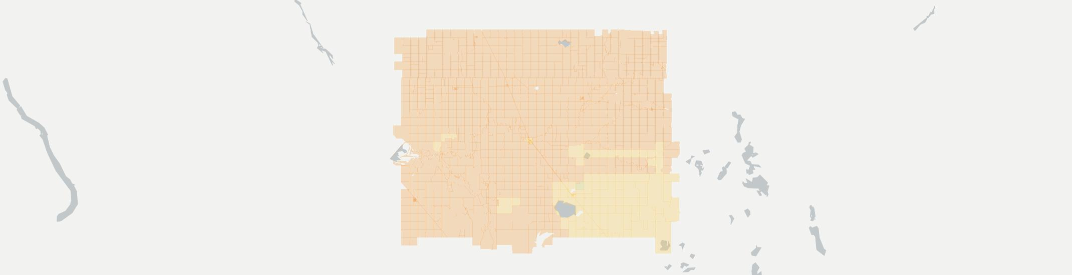 Willow City Internet Competition Map. Click for interactive map.
