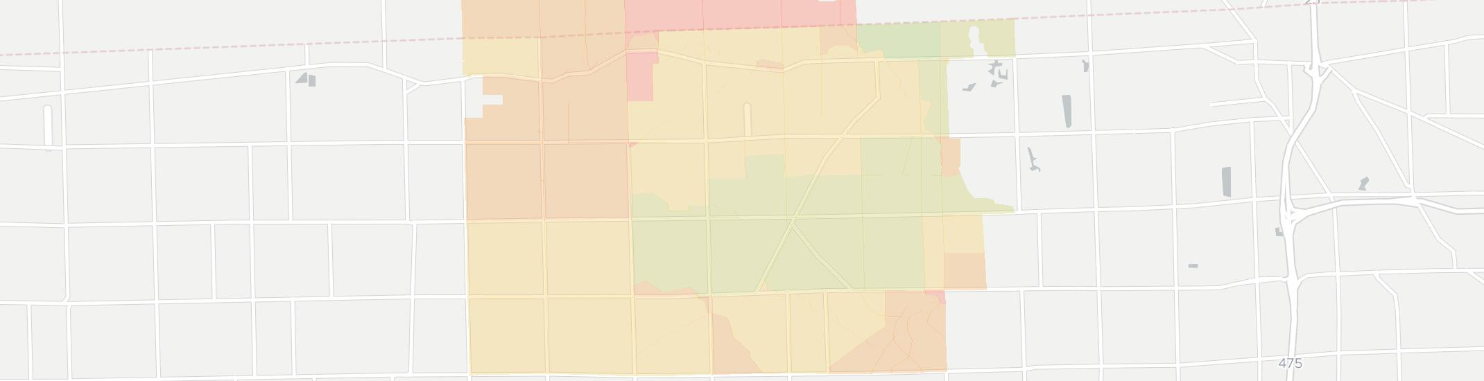 Berkey Internet Competition Map. Click for interactive map.