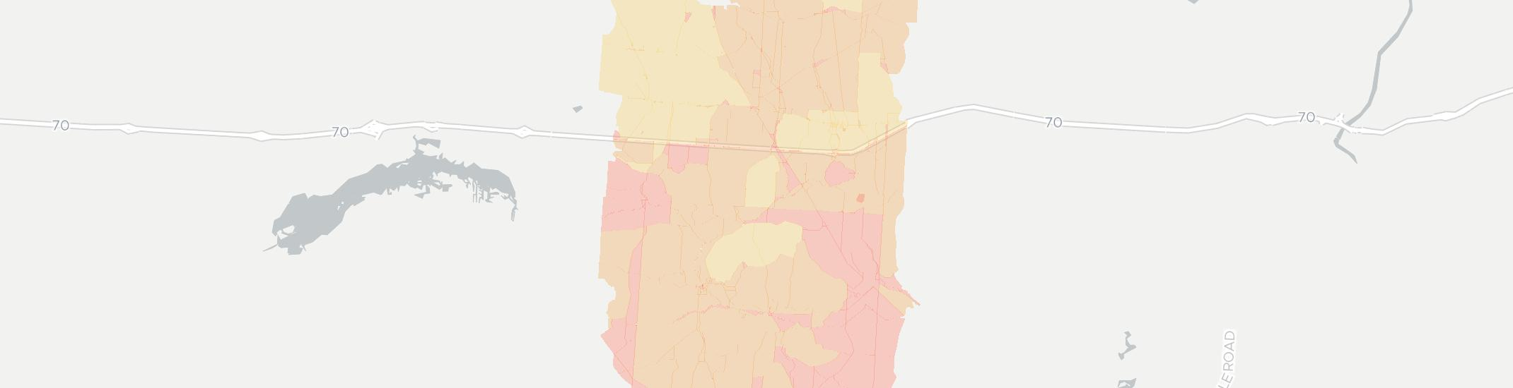 Glenford Internet Competition Map. Click for interactive map.