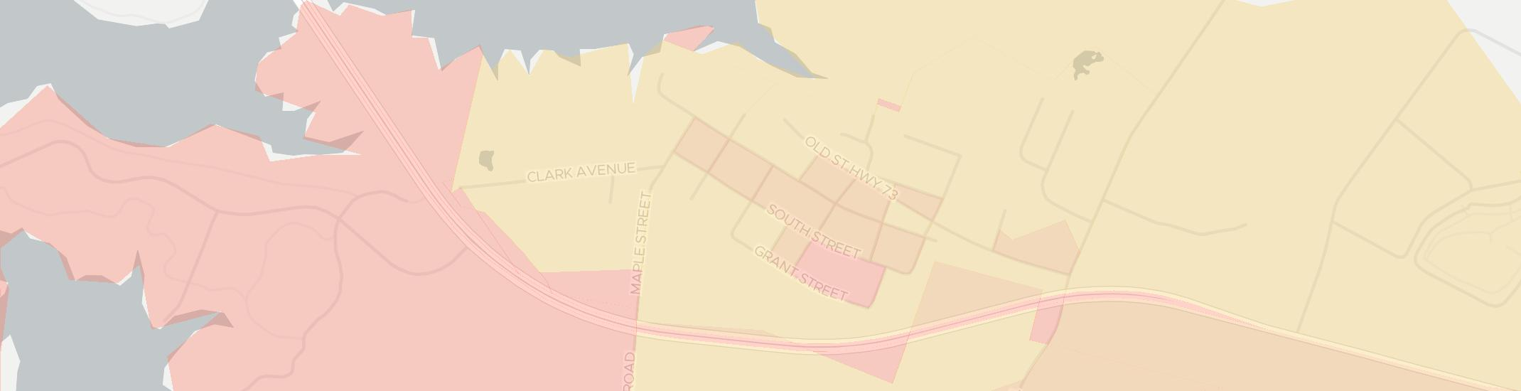Harveysburg Internet Competition Map. Click for interactive map.