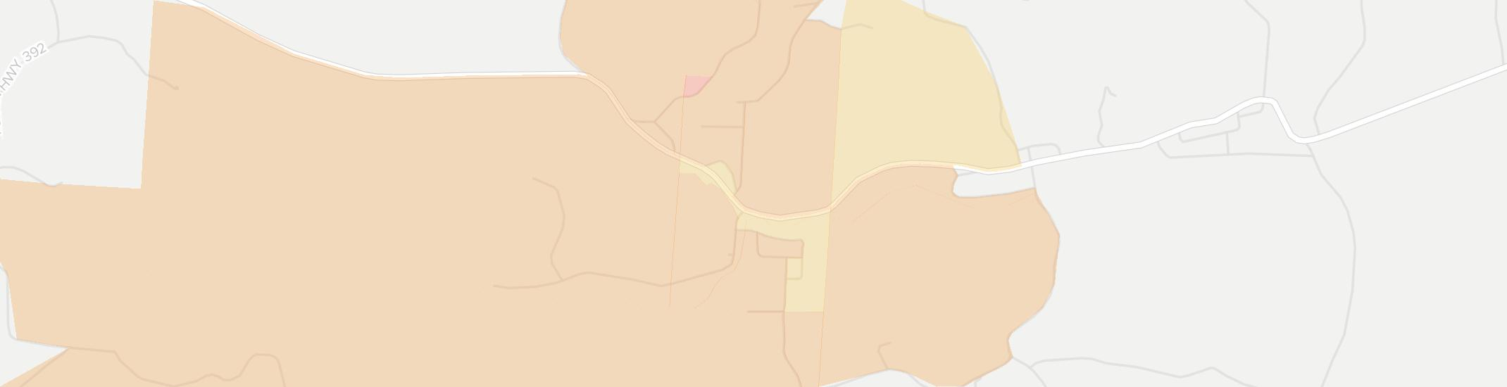 Hemlock Internet Competition Map. Click for interactive map.