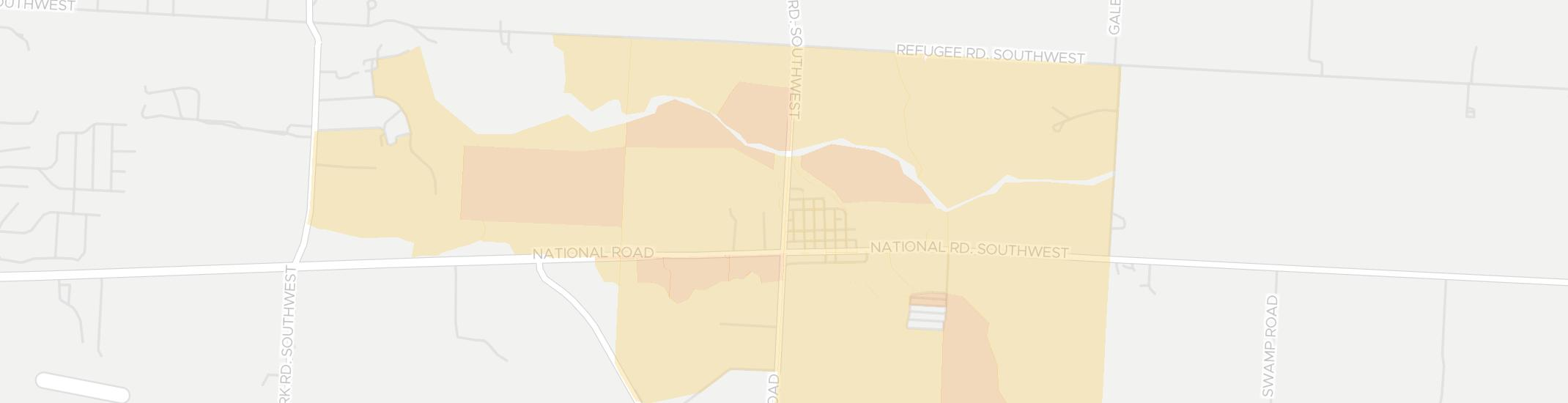 Kirkersville Internet Competition Map. Click for interactive map.