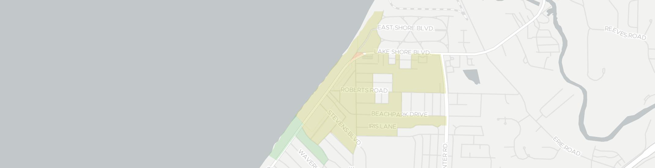 Lakeline Internet Competition Map. Click for interactive map.